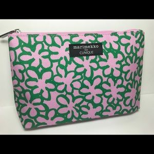 merimekko for Clinique Makeup Cosmetic Bag